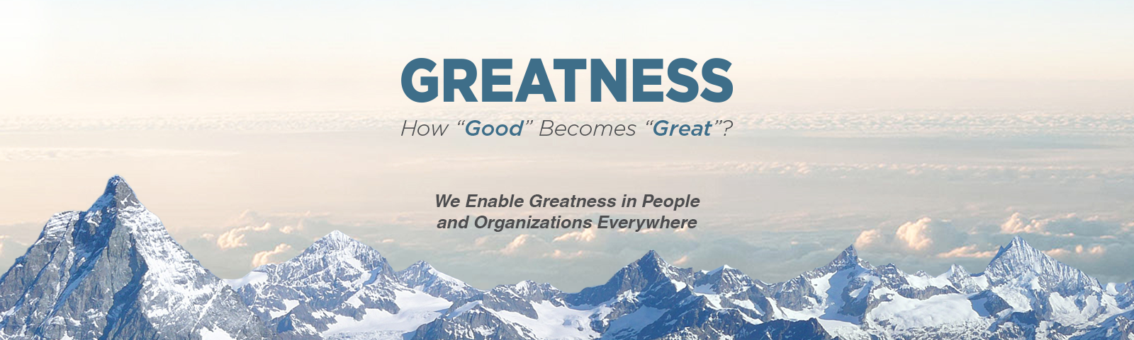 "How ""Good"" becomes ""Great""?"